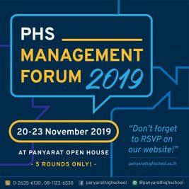 PHS Management Forum – 2019/2020